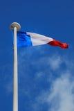 Bandeira de France fotografia de stock royalty free