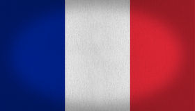 Bandeira de France Fotos de Stock