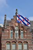 Bandeira de Friesland imagens de stock