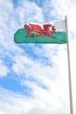 Bandeira de Galês Fotos de Stock Royalty Free