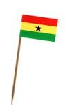 Bandeira de Ghana Fotos de Stock