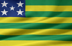 Bandeira de Goias Fotos de Stock Royalty Free