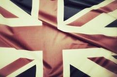 Bandeira de Grâ Bretanha Foto de Stock