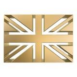 Bandeira de Grâ Bretanha Fotografia de Stock Royalty Free