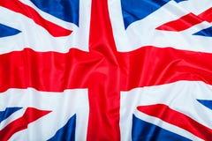 Bandeira de Grâ Bretanha Reino Unido Fotografia de Stock