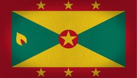 Bandeira de Granada Imagem de Stock Royalty Free