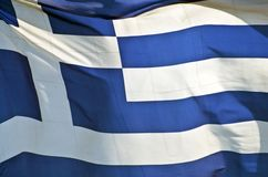 Bandeira de Greece ilustração stock