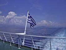 Bandeira de Greece Imagem de Stock