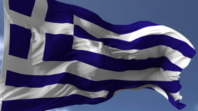 Bandeira de Greece ilustração do vetor