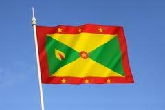 Bandeira de Grenada Imagens de Stock Royalty Free