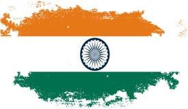 Bandeira de Grung india Imagens de Stock
