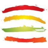 Bandeira de Grunge Foto de Stock Royalty Free