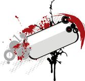 Bandeira de Grunge Imagens de Stock