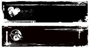 Bandeira de Grunge Fotos de Stock Royalty Free