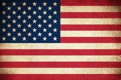 Bandeira de Grunge dos EUA Imagens de Stock Royalty Free