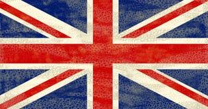 Bandeira de Grunge Reino Unido ilustração stock