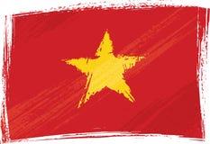 Bandeira de Grunge Vietnam Imagem de Stock Royalty Free