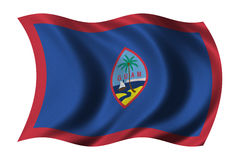 Bandeira de Guam Foto de Stock Royalty Free