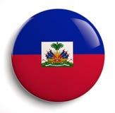 Bandeira de Haiti Fotografia de Stock Royalty Free