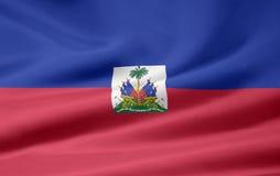 Bandeira de Haiti Foto de Stock Royalty Free
