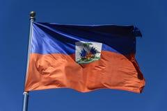 Bandeira de haiti Foto de Stock