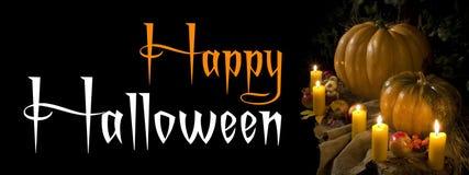 Bandeira de Halloween Foto de Stock