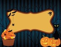 Bandeira de Halloween Imagens de Stock Royalty Free
