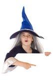 Bandeira de Halloween Imagem de Stock