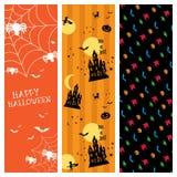 Bandeira de Halloween Imagem de Stock Royalty Free