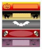 Bandeira de Hallowen Ilustração Stock