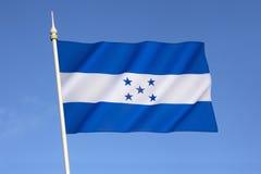 Bandeira de Honduras Fotos de Stock Royalty Free