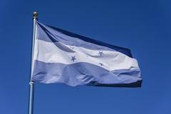 Bandeira de Honduras Fotografia de Stock