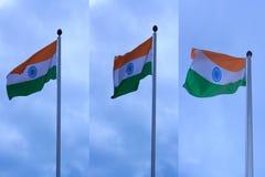 Bandeira de India Foto de Stock