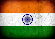 Bandeira de India Fotos de Stock