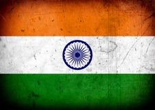 Bandeira de India Fotos de Stock