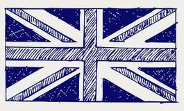 Bandeira de Inglaterra Fotos de Stock Royalty Free