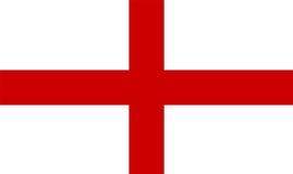 Bandeira de Inglaterra ilustração royalty free