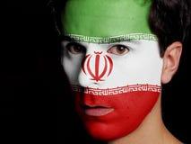 Bandeira de Irã Imagem de Stock