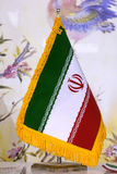 Bandeira de Irã Imagens de Stock