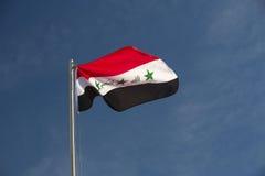 Bandeira de Iraque Foto de Stock