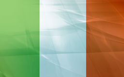 Bandeira de ireland Fotos de Stock Royalty Free