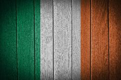 Bandeira de Ireland Foto de Stock Royalty Free