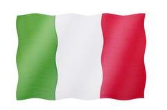 Bandeira de Italy Fotografia de Stock Royalty Free
