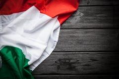 Bandeira de Italy imagem de stock royalty free