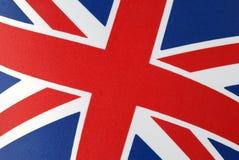Bandeira de Jack de união fotografia de stock royalty free