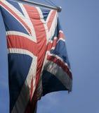 Bandeira de Jack de união Ingleses Fotos de Stock