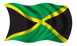 Bandeira de Jamaica ilustração stock