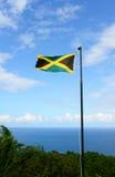 Bandeira de Jamaica Imagens de Stock