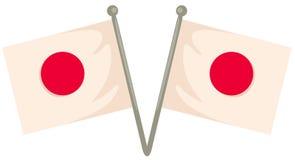Bandeira de Japão Foto de Stock
