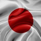 Bandeira de Japão Fotos de Stock Royalty Free